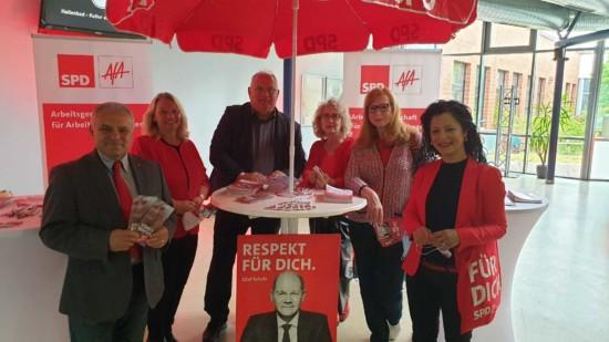AfA Niedersachsen im Wahlkampf für Olaf Scholz